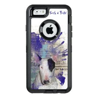 Bullterrier-Nachrichten-Spritzen OtterBox iPhone OtterBox iPhone 6/6s Hülle
