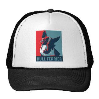 Bullterrier-politische Parodie Truckermütze