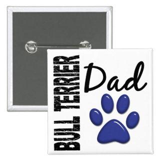 Bullterrier-Vati 2 Buttons