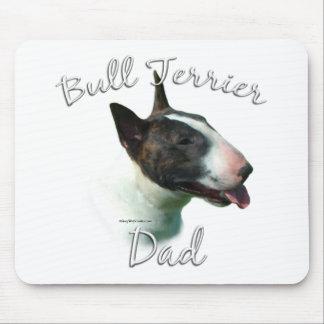 Bullterrier-Vati 2 Mousepad