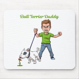 Bullterrier-Vati Mousepad