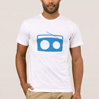 BumeBox T-Stück in Boombox (blau) T-Shirt