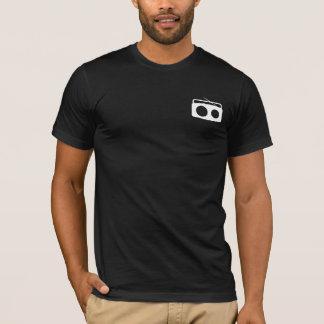 BumeBox T-Stück in Boombox (weiß auf Tasche) T-Shirt