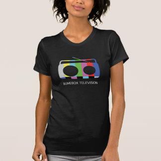 BumeBox T-Stück in Fernsehen (weiß) T-Shirt
