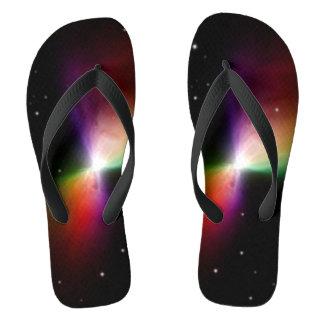 Bumerang-Nebelflecke Flip Flops