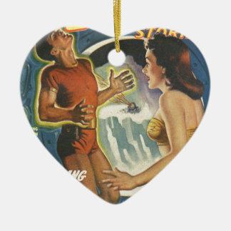 Bumerang-Stromkreis Keramik Herz-Ornament