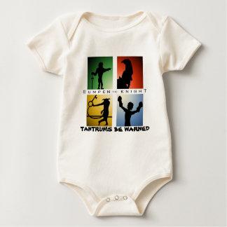 Bumpen der Ritter-Säuglings-Strampler Baby Strampler