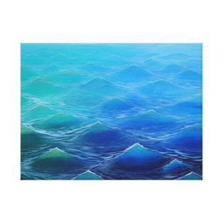 Bumpy - Leinwand SURF ART
