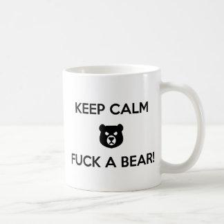 Bumsen Sie einen Bären Kaffeetasse
