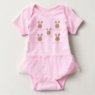 Bunbun das Häschen - Baby-Ballettröckchen-Bodysuit Baby Strampler