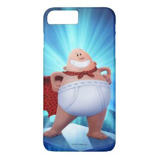 Bund-Krieger Kapitän-Underpants | auf Dach iPhone 8 Plus/7 Plus Hülle