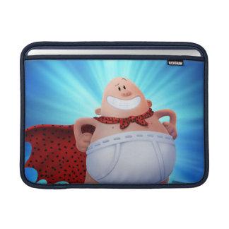 Bund-Krieger Kapitän-Underpants | auf Dach Sleeve Fürs MacBook Air