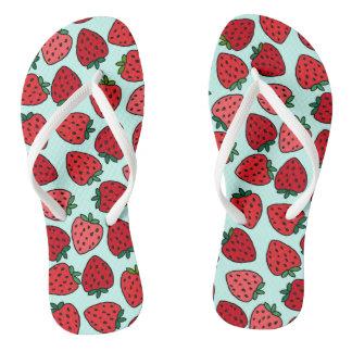 Bündel Erdbeeren - drehen Sie Reinfälle um Flip Flops