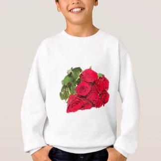 Bündel Rote Rosen Sweatshirt