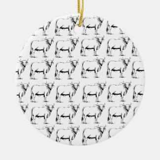 Bündel schlechte Stiere Keramik Ornament