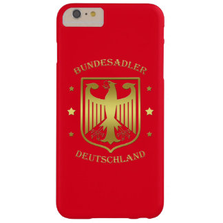 Bundesadler Deutschland Glanz-Gold Barely There iPhone 6 Plus Hülle