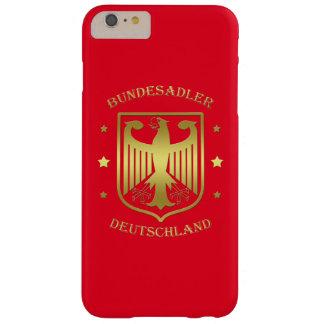 Bundesadler Deutschland Glanz-Gold Barely There iPhone 6 Plus Hülle