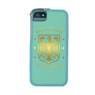 Bundesadler Deutschland Glanz-Gold Hüllen Für iPhone 5/5S