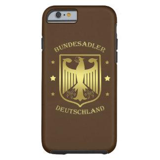 Bundesadler Deutschland Glanz-Gold Tough iPhone 6 Hülle