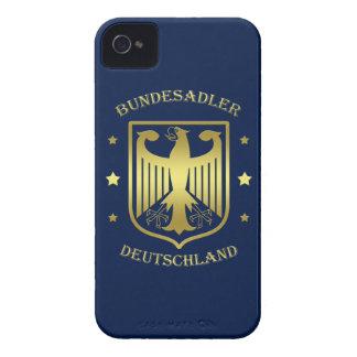 Bundesadler Deutschland Glanz-Gold Case-Mate iPhone 4 Hülle