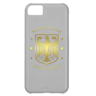 Bundesadler Deutschland Glanz-Gold iPhone 5C Hülle