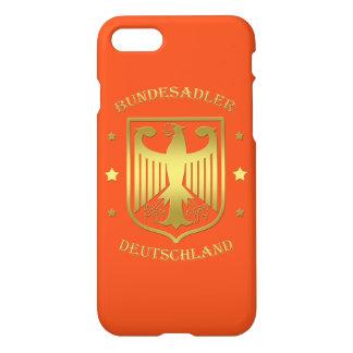 Bundesadler Deutschland Glanz-Gold iPhone 8/7 Hülle