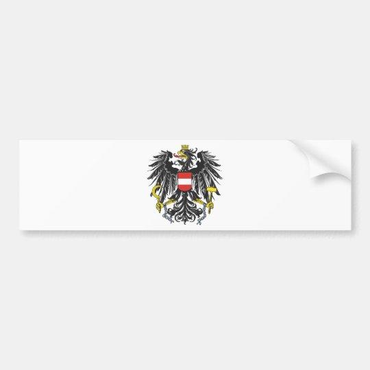 Bundesadler Österreich Autoaufkleber