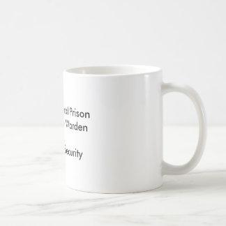 Bundesstaatliche Gefängnis-Tasse Clintons Kaffeetasse