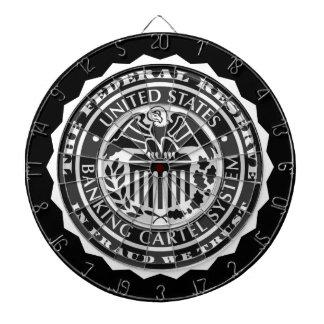 Bundesstaatliche Reserve-Geier-Siegel-Pfeil-Brett- Dart-scheibe