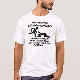Bundesstaatliche schützende und dienende Regierung T-Shirt