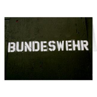 Bundeswehr Karte