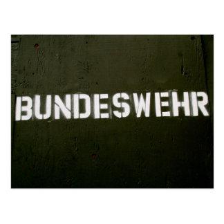 Bundeswehr Postkarte
