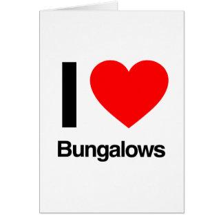 Bungalowe der Liebe I Grußkarte