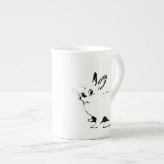 BunnyLuv Tasse, die Barney kennzeichnet Porzellantasse