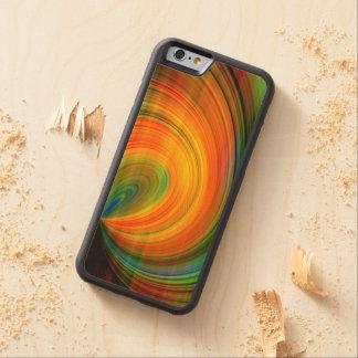 Bunte abstrakte Fraktal-Kunst Bumper iPhone 6 Hülle Ahorn