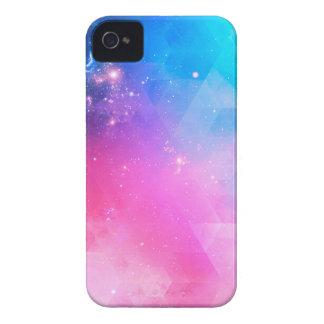 Bunte abstrakte geometrische Himmel-Galaxie iPhone 4 Case-Mate Hülle