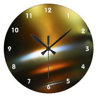 Bunte abstrakte Uhren