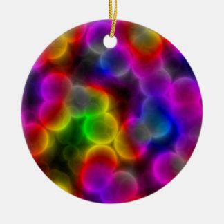 Bunte Bakterien Keramik Ornament