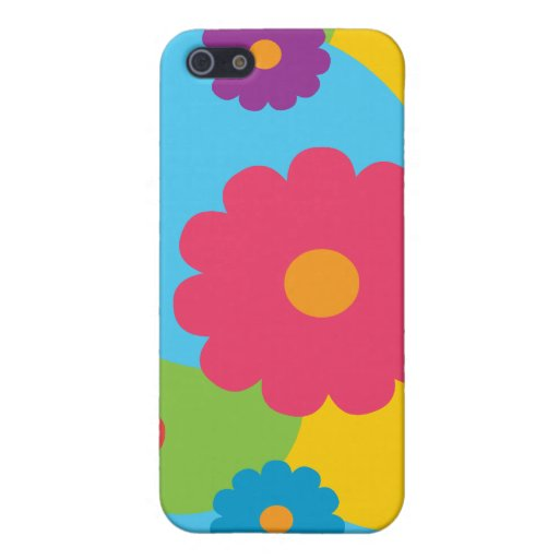 Bunte Blumen iPhone 5 Etui
