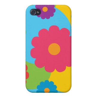 Bunte Blumen iPhone 4/4S Hülle