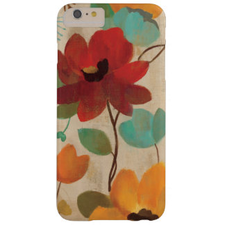 Bunte Blumen und Knospen Barely There iPhone 6 Plus Hülle