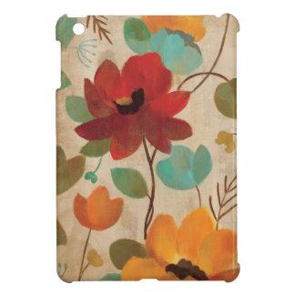 Bunte Blumen und Knospen iPad Mini Hülle