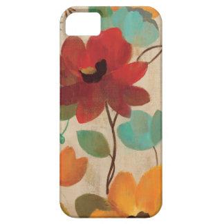 Bunte Blumen und Knospen Schutzhülle Fürs iPhone 5