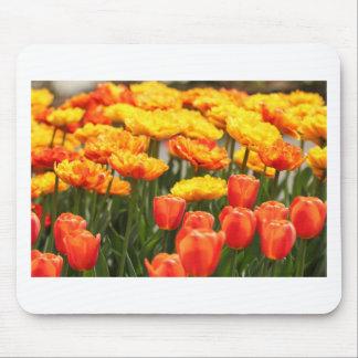 Bunte Blumen-Vielzahl Mousepad
