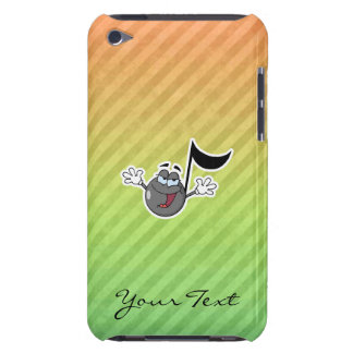 Bunte Cartoon-Musik-Anmerkung Barely There iPod Case