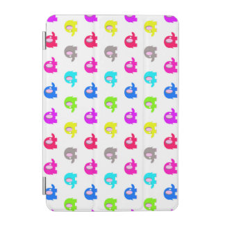 bunte Cartoonelefanten iPad Mini Hülle