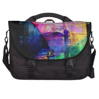 Bunte CD Hüllenen-Collage Laptop Taschen