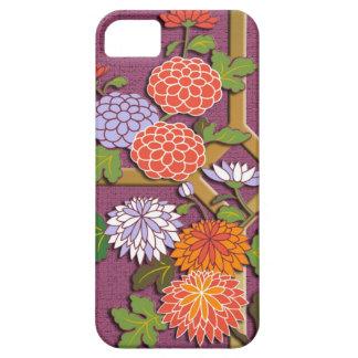 Bunte Chrysanthemen iPhone 5 Etui