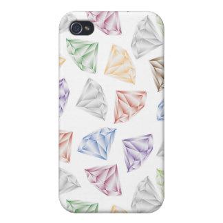 Bunte Diamanten für meinen Schatz iPhone 4/4S Case