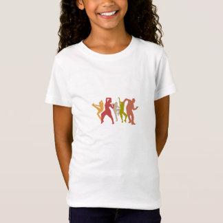 Bunte Dubstep Tänzer T-Shirt